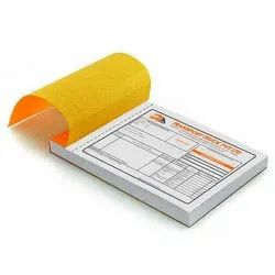 RQUBE Pan India LR Book/ Courier Slip With Barcode Printing
