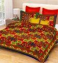 Jaipuri Print Cotton Double Bed Sheet