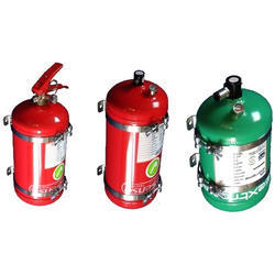 Fire Extinguisher Mild Steel Fire Fighting System