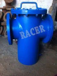 Mild Steel Fabricated Basket Strainer