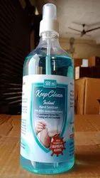 Keep Clean Hand Sanitizer / Mist Spray Pump / Alcohol Based / 500ML