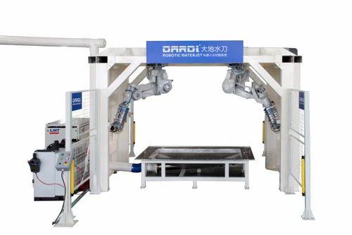 Robotic Waterjet Cutting Machine - Robotic Waterjet Cutting