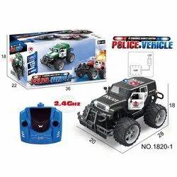 Black Police Kids Toy Car, Packaging Type: Box, No. Of Wheel: 4