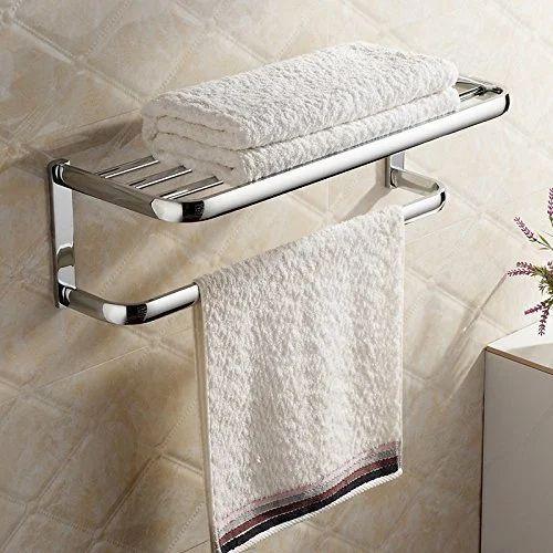 Silver Bathroom Towel Rack Rs 2500, Towel Hanger Bathroom
