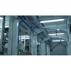 Compressed Air Piping System, For Industrial