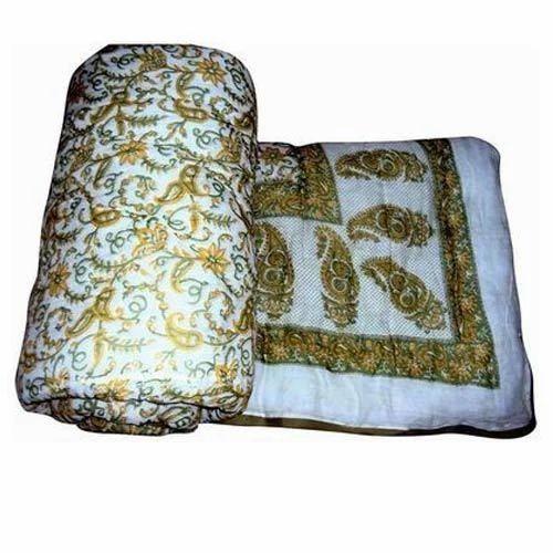 93d52e8d12 Multicolor Printed Jaipuri Double Bed Razai, Rs 1200 /piece | ID ...