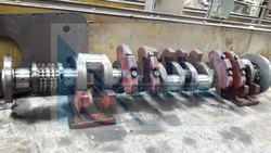Bergen KVMB 12 STD Crankshaft