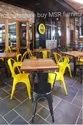 Msr Furniture Metal Cafe Chairs