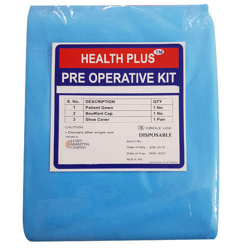 Health Plus Disposable Sterile Surgical Kit, Packing: Packet