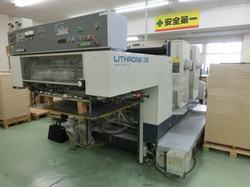 Komori L232  2 Color Used Offset Press Machine