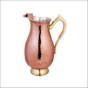 Steel And Copper Pitcher Jug