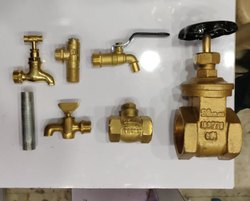 Polished Brass Fittings for Bathroom Fitting