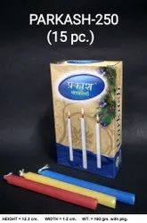 Parkash-250/15 Color Deepawali Candle