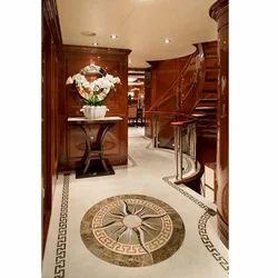 Marble Inlaid Flooring