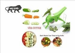 Vegetable Cutter With Peeler