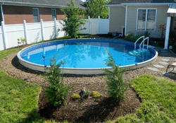 Round Shaped Swimming Pool