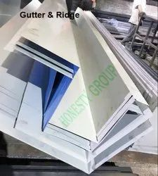 Gutter & Rudge for Sheet-Thickness upto 6mm and length upto 4100mm (4 metres).