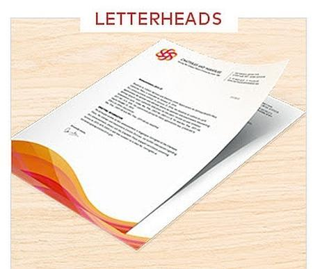 Letter heads at rs 150 piece letter head id 18974828212 letter heads altavistaventures Images