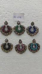 Oxidized Bali Earring