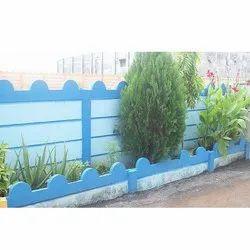 Residential Garden Concrete Curbing