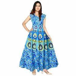 Woman Cotton Lace Dress