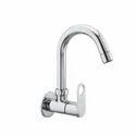 Silver Brass Sink Cock(orn-010)