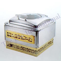 Brass and stainless steel designer Chafing Dish