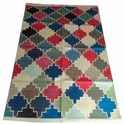 Planet Arts Multicolor Handmade Cotton Rugs, Size: 4x6 Feet