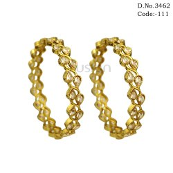South Indian Design Stone Bangles