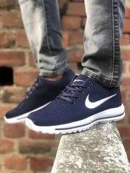 Black Running Nike Sport Shoes, Size: 8