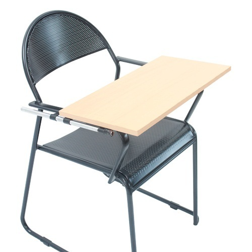Black Iron Student Writing Pad Chair Rs 1500 Unit