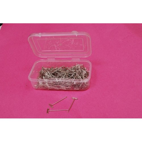 Stainless Steel Paper T-Pin, For Home, Packaging Type: Box