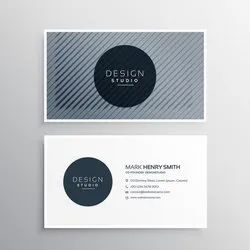 Standard Visiting Cards - Front / Back