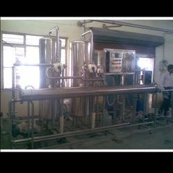 Linear Auto Cup Rinsing Filling and Sealing Machine