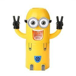 Cartoon Yellow Toothbrush Holder