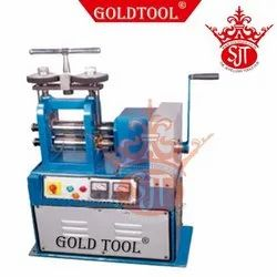 Jewellery Single Head Rolling Mills With Handle