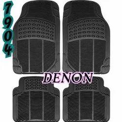 Denon Black,Beige Car Rubber Mat