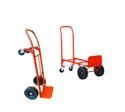 Ms Orange Stackeasy 2 In 1 Trolley, For Material Handling, Size: 1240x500x500mm