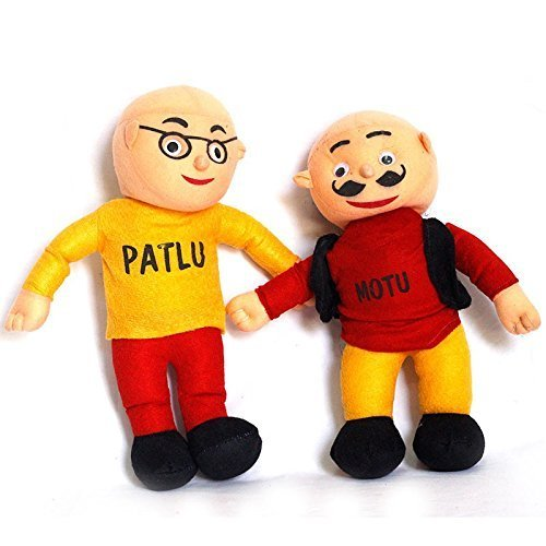Stuffed Motu Patlu Stuffed Khilaune स टफ ड ट यस Sai