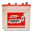 Kiran 180 Ah Automotive Battery