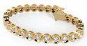 Diamond Bracelets, Packaging Type: Box