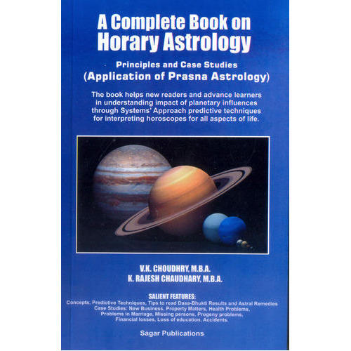 Astrology Books on Horary Astrology - A Complete Book On