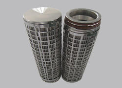Pleated Stainless Steel From Oil Filter