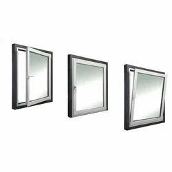 Square Aluminium Glass Window