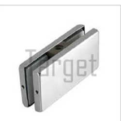 Patch Fitting- Glass to Glass Connector (Wall/Ceiling to Glass) (Double Connector Patch) (650)