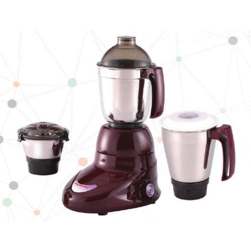 Butterfly Handy Plus 3 Jar Mixer Grinders for Kitchen, 300 W - 500 W