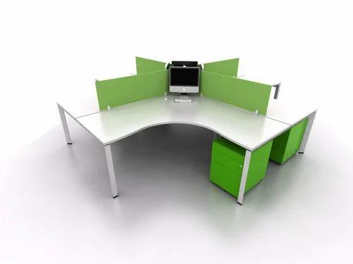 120 Deg. Office Work Station Clusters
