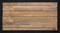 Teak 5 Patti Rainbow Wall Cladding