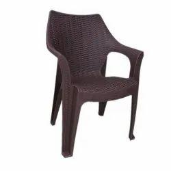 Black Shubh Plastic Chair Model 5050 For Home,Office