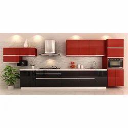 Kube Straight Modular Kitchen, Warranty: 1-5 Years